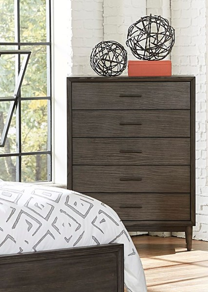 Home Elegance Norhill Wire Brushed Gray Chest HE-1727N-9