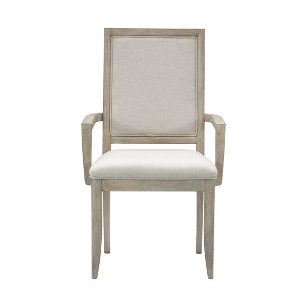 2 Home Elegance Mckewen Gray Arm Chairs HE-1820A