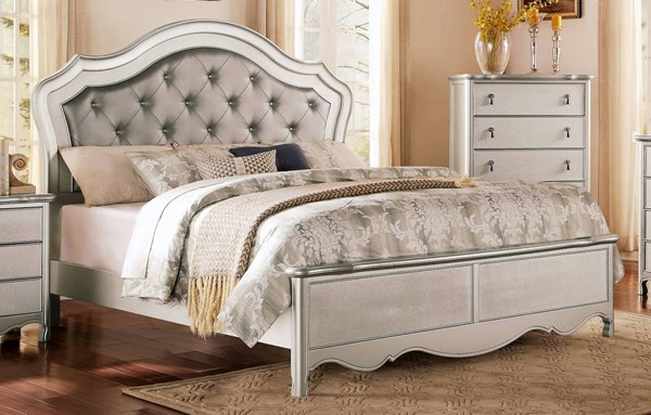 Home Elegance Toulouse Champagne Queen Bed HE-1901-1
