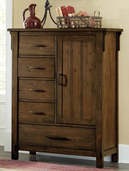 Home Elegance Terrace Burnished Oak Chest HE-1907-9