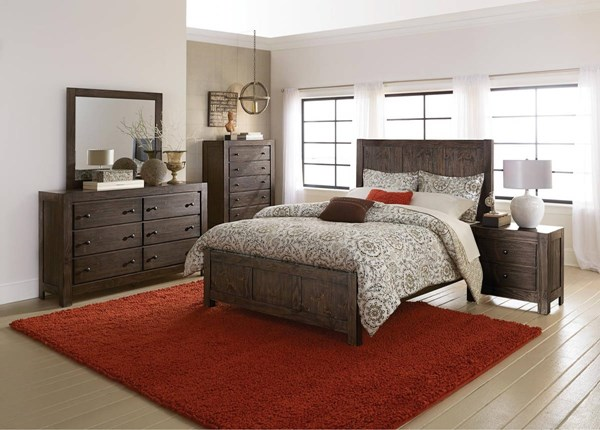 Home Elegance Farrin Master Bedroom Set HE-1924-BR