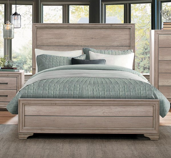 Home Elegance Lonan Melamine King Bed HE-1955K-1EK