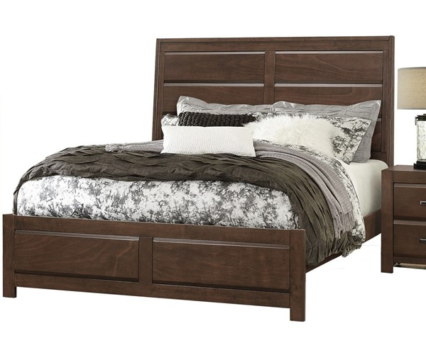Home Elegance Erwan Espresso King Bed HE-1961K-1EK