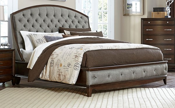 Home Elegance Yorklyn Cherry Beds HE-1966-BEDS