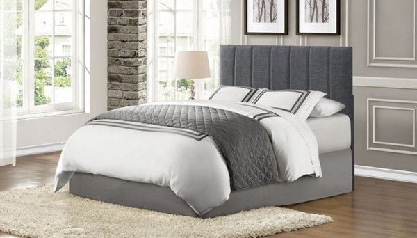 Home Elegance Potrero Grey Twin Headboard HE-2024T-1HB