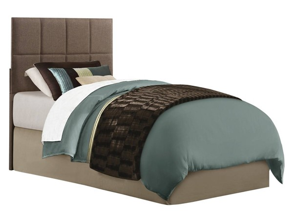 Home Elegance Potrero Brown Twin Headboard HE-2025T-1HB