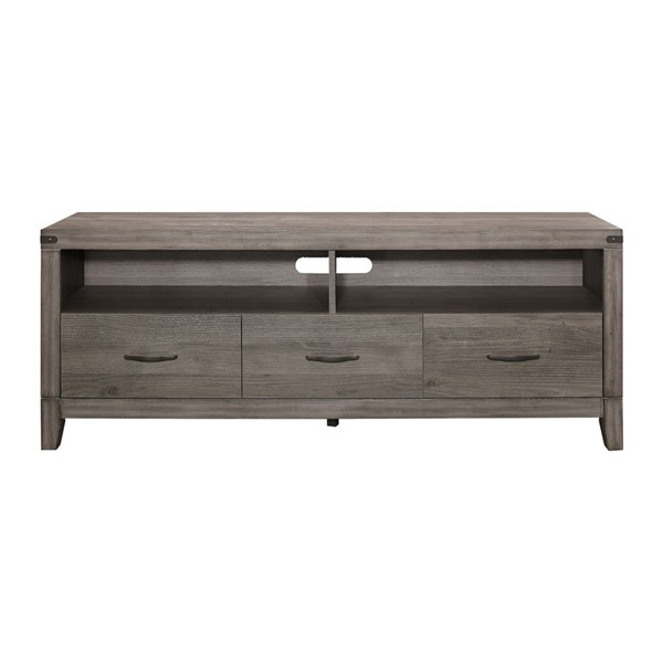 Home Elegance Woodrow Gray TV Console HE-20420-66T