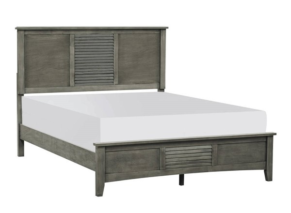 Home Elegance Garcia Gray King Bed HE-2046K-1EK