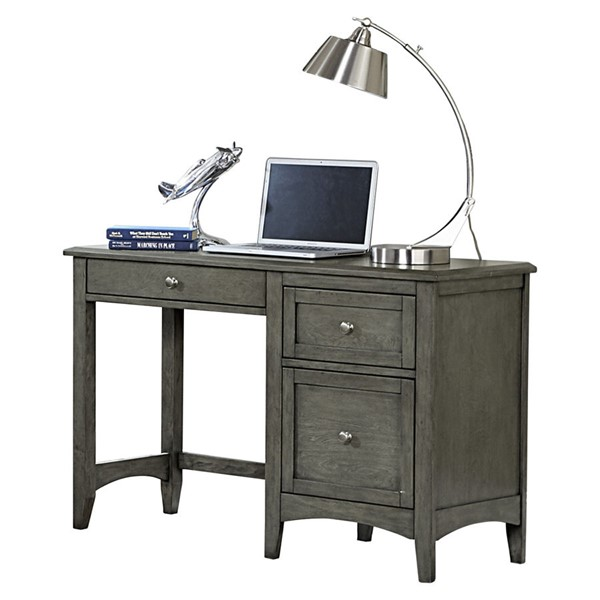 Home Elegance Garcia Gray Writing Desk HE-2046-15
