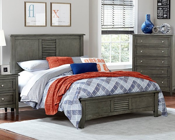 Home Elegance Garcia Gray Beds HE-2046-BEDS