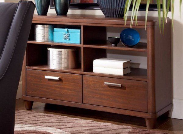 Beaumont Brown Cherry Wood Media Chest/Server HE-2111-40