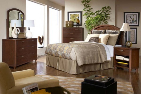 Home Elegance Beaumont Master Bedroom Set HE-2111-BR
