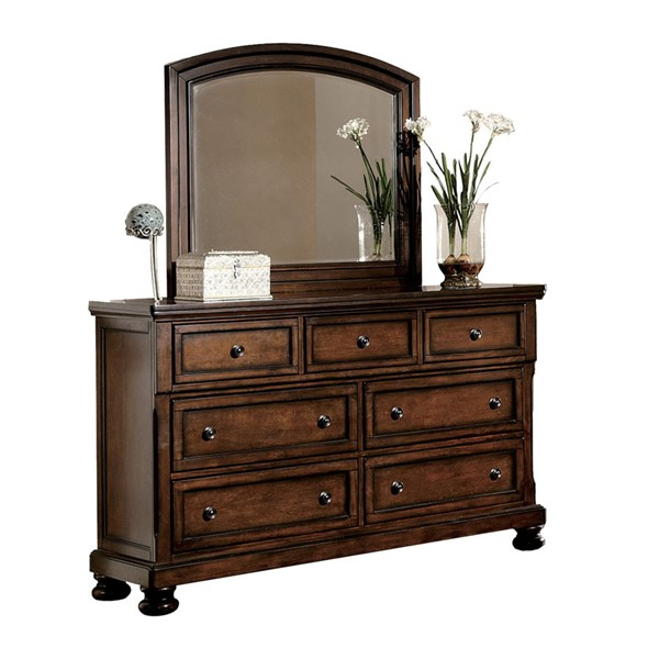 Home Elegance Cumberland Dresser and Mirror HE-2159-DRMR