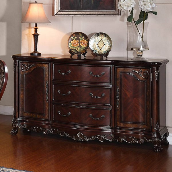 Deryn Park Traditional Cherry Wood Buffet/Sideboard HE-2243-55