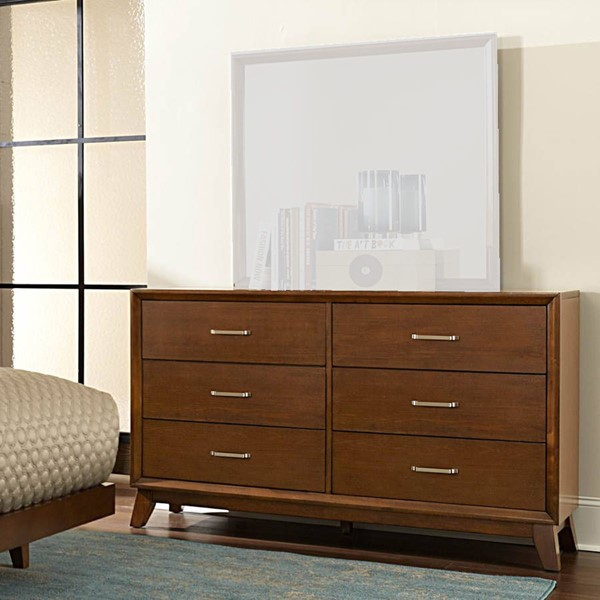 Home Elegance Soren Light Cherry Dresser HE-2278-5