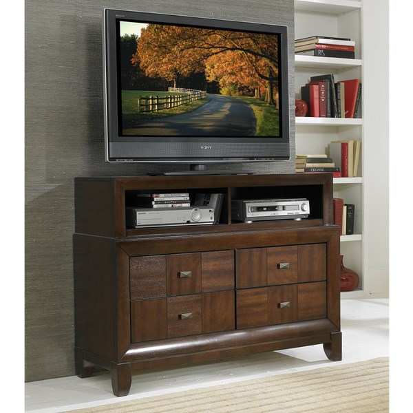 Carrie Ann Traditional Warm Cherry Wood TV Chest HE-2295-11
