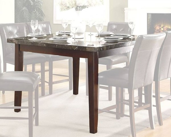 Home Elegance Decatur Espresso Counter Height Table HE-2456-36