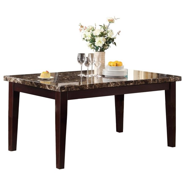 Home Elegance Teague Dining Table HE-2544-64