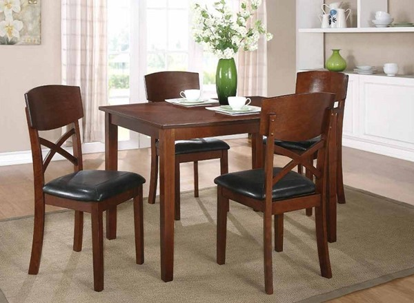 Home Elegance Jonas 5 Piece Pack Dinette Set HE-2558