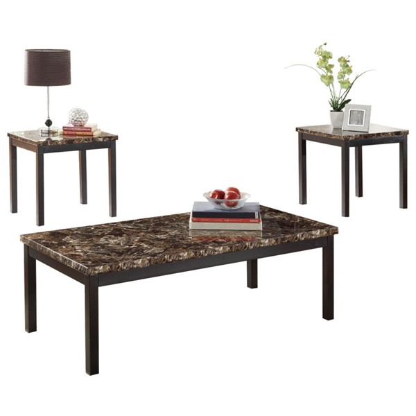 Home Elegance Tempe 3 In 1 Pack Occasional Tables HE-2601-31