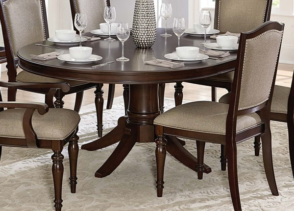 Home Elegance Marston Pedestal Dining Table HE-2615DC-72