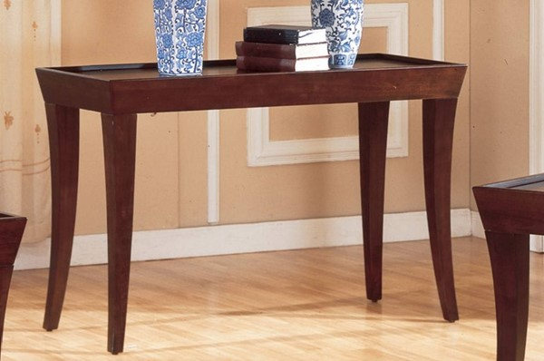 Home Elegance Zen Espresso Sofa Table HE-3216B-05
