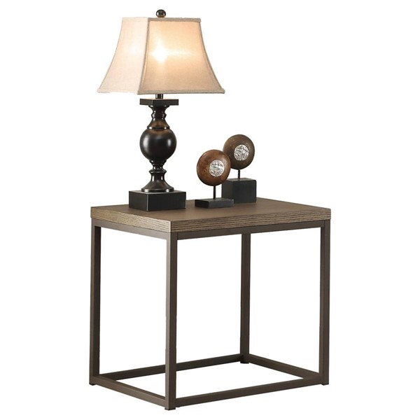 Home Elegance Daria End Table HE-3224N-04