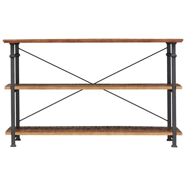 Home Elegance Factory Brown Sofa Table TV Stand HE-3228-05