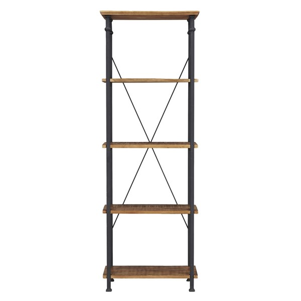 Home Elegance Factory Burnished Bookcase HE-3228-12