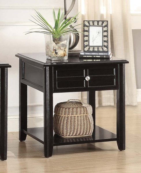 Home Elegance Carrier End Table with Drawer HE-3257RF-04