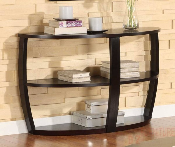 Patterson Modern Espresso Wood Sofa Table HE-3296-05