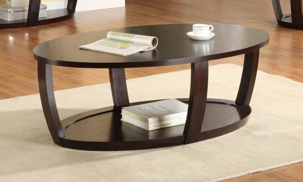 Patterson Modern Espresso Wood Cocktail Table HE-3296-30