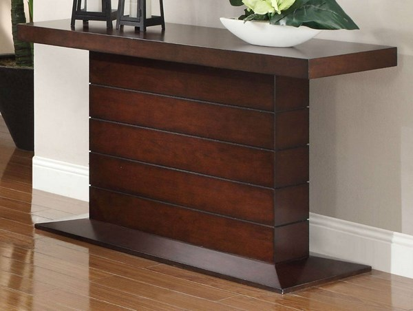Nast Contemporary Cherry Wood Sofa Table HE-3467-05
