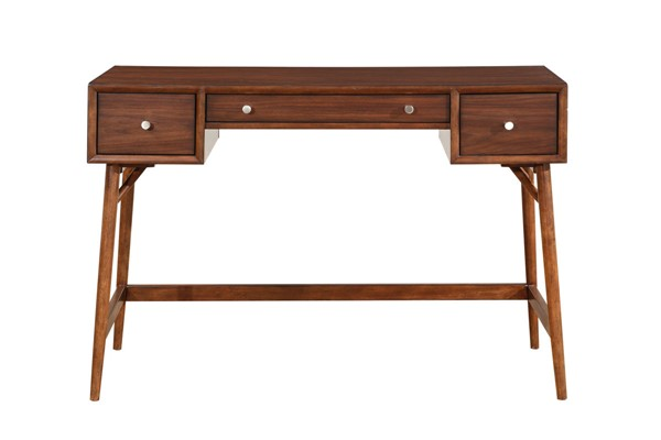Home Elegance Frolic Brown Counter Height Writing Desk HE-3590-22