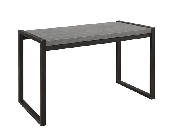 Home Elegance Dogue Gunmetal Writing Desk HE-3606-15