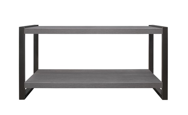Home Elegance Dogue Gunmetal Cocktail Table HE-3606-30