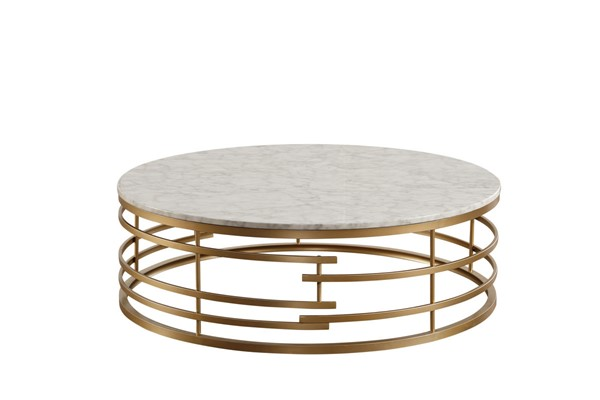 Home Elegance Brassica Gold Silver Coffee Tables HE-3608-CT-VAR