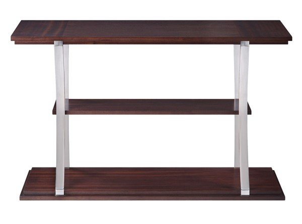 Home Elegance Bevan Dark Cherry Sofa Table HE-3611RF-05