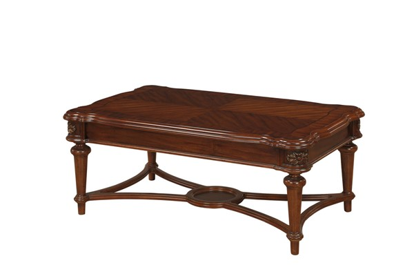 Home Elegance Barbary Cherry Cocktail Table HE-3618-30