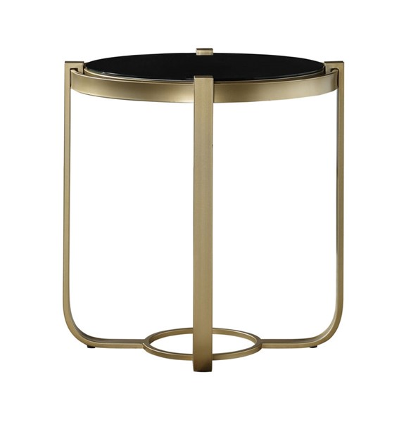 Home Elegance Caracal Gold End Table HE-3635-04