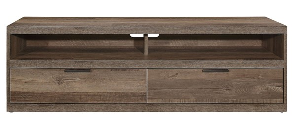 Home Elegance Danio Rustic Natural 64 Inch TV Stand HE-36660-64T