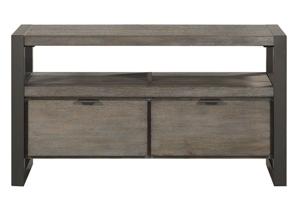 Home Elegance Prudhoe Gunmetal 40 Inch TV Stand HE-4550-40T