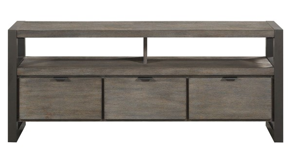 Home Elegance Prudhoe Gunmetal 58 Inch TV Stand HE-4550-58T