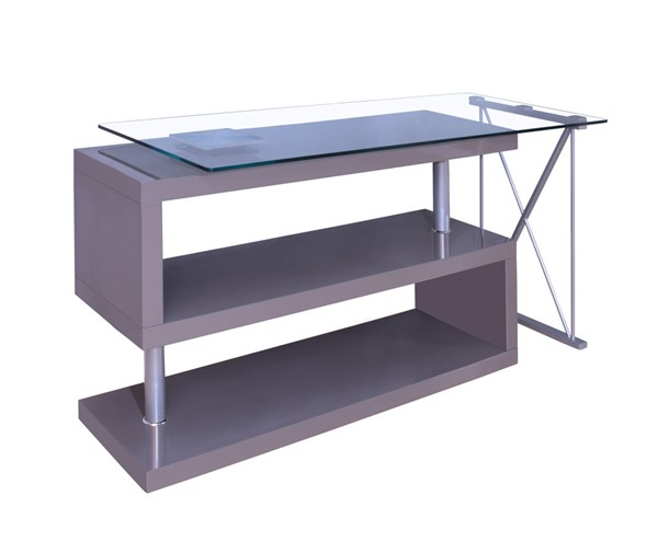 Home Elegance Netto Gray Writing Desk HE-4558-15