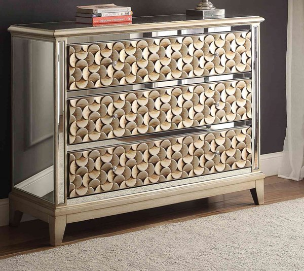Avadore Traditional Champagne Gold Cabinet HE-4683CN