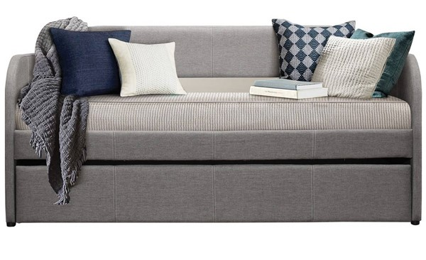 Home Elegance Roland Grey Daybed with Trundle HE-4950GY