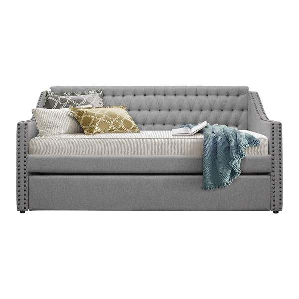 Home Elegance Tulney Grey Daybed with Trundle HE-4966