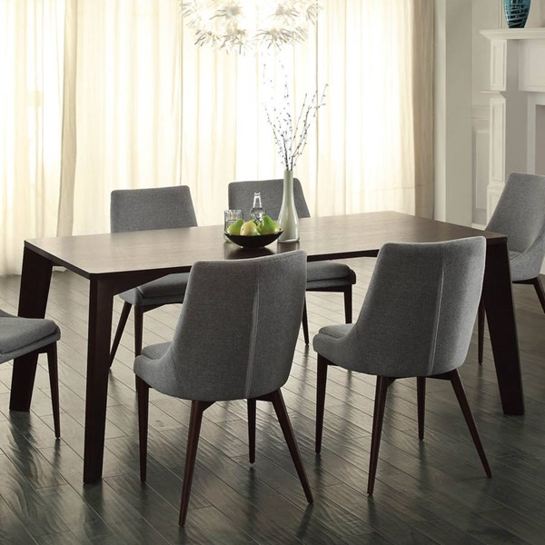 Fillmore Contemporary Espresso Wood Dining Table HE-5048-72