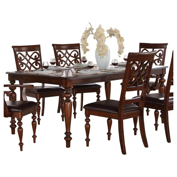 Home Elegance Creswell Dining Table HE-5056-78
