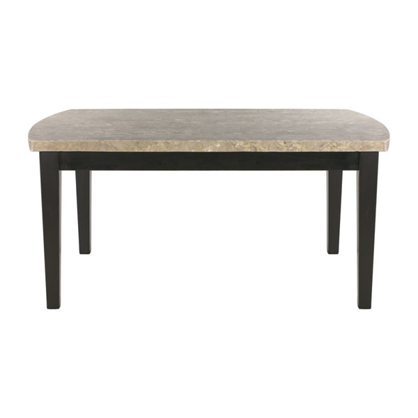 Home Elegance Cristo Dining Table with Marble Top HE-5070-64